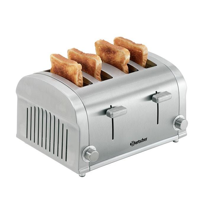 Gastro Toaster TS40 mit Brötchenaufsatz Bartscher