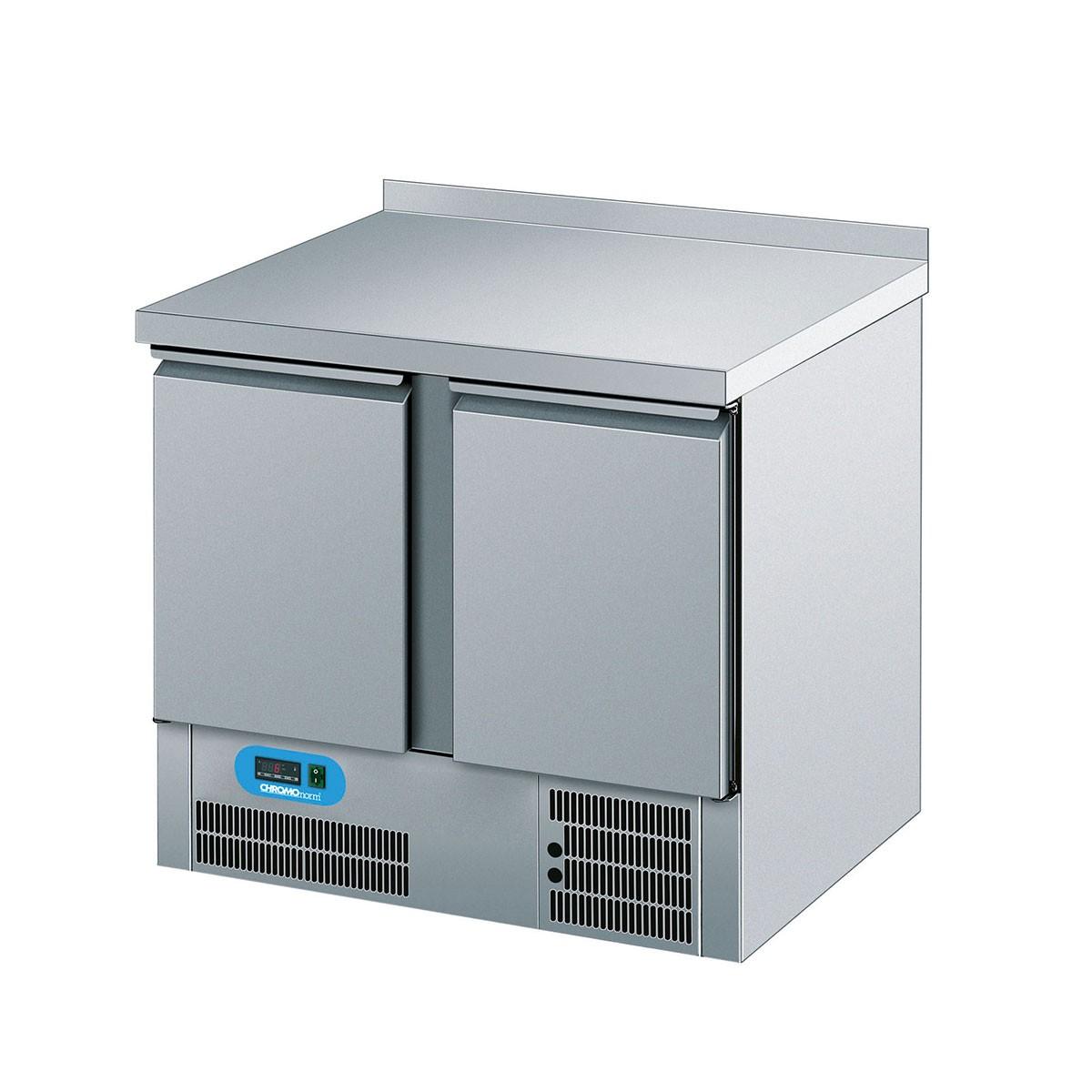 Chromonorm Kühltisch mit 2 Flügeltüren 950 x 700 CKTT07950CEV