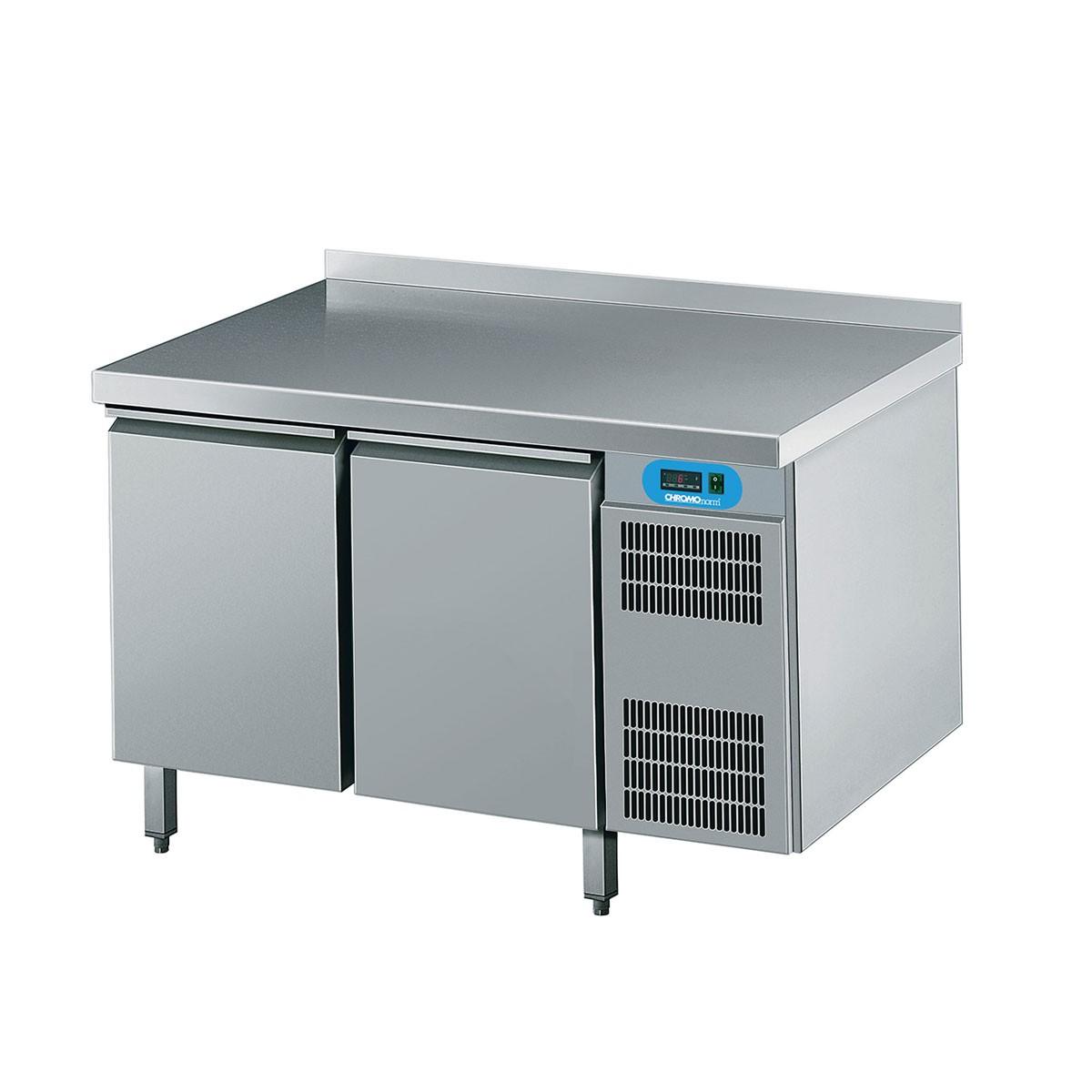 Chromonorm Bäckerei Kühltisch mit 2 Flügeltüren 1400 x 800mm CKTEK8246601
