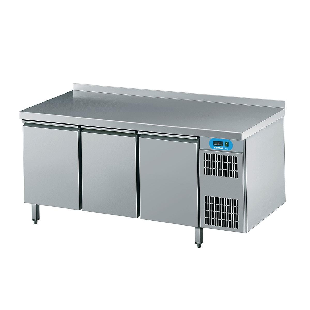 Chromonorm Kühltisch mit 3 Flügeltüren 1725 x 700mm CKTEK7311601-1/1/1