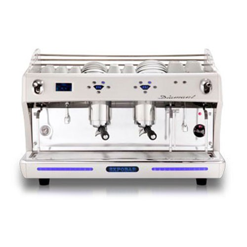 Gastro Espressomaschine Diamant 2 Gruppen mit Display