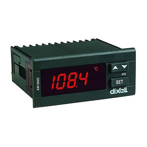 Dixell Anzeigegerät XA100C-1N0AU 24V AC/DC (ohne Fühler) XA100C