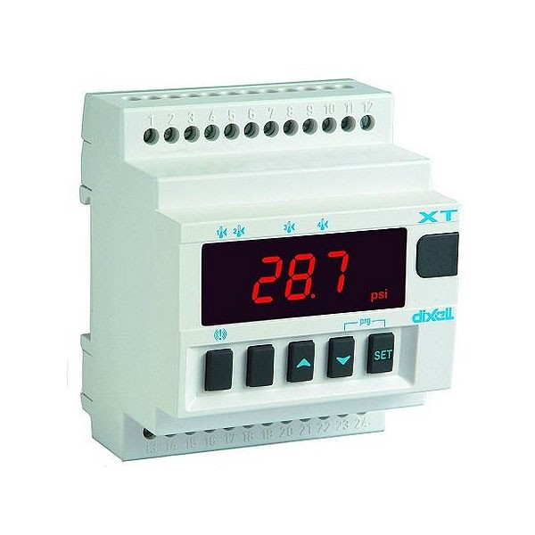 Dixell einstufiger Temperaturregler XT111D-1C0TU 24Vac (ohne Fühler) XT111D