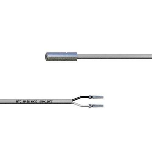 Eliwell NTC 10k Fühler SN8DAE13002C0 6x20 IP68 (3.0m Kabellänge)