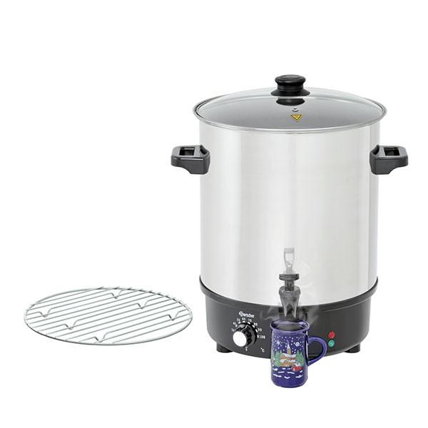 Glühweintopf / Einkochtopf CNS Bartscher - 30 L
