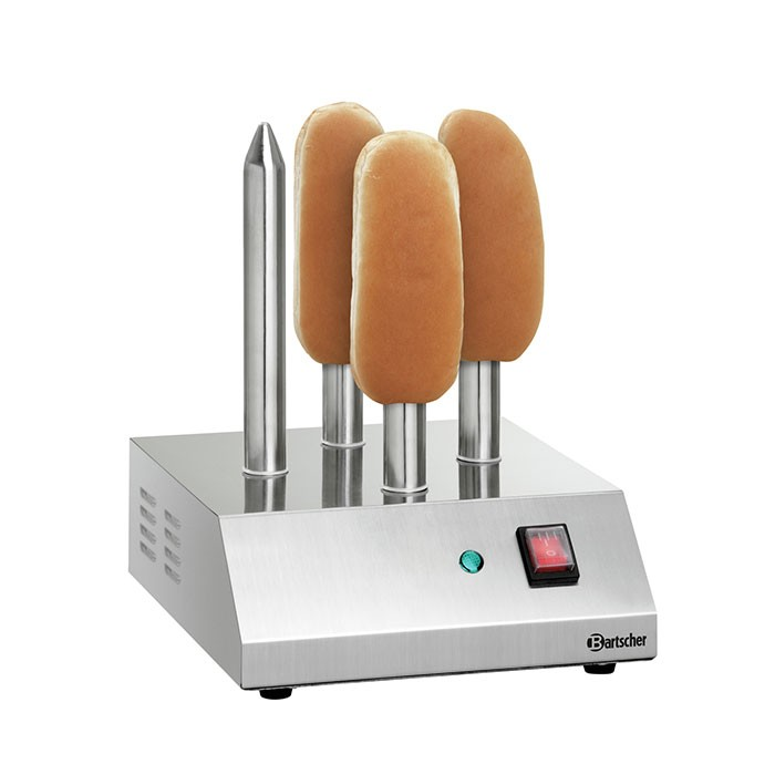 Hot-Dog-Spießtoaster T4 mit 4 Toaststangen