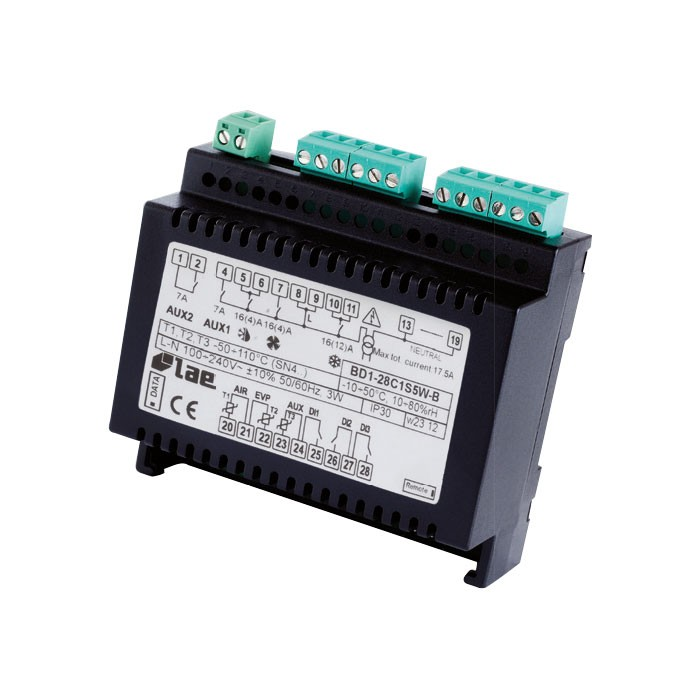 LAE Split Kühlstellenmodul BR1-28C1S5W-B (incl. 3x Fühler) BR1