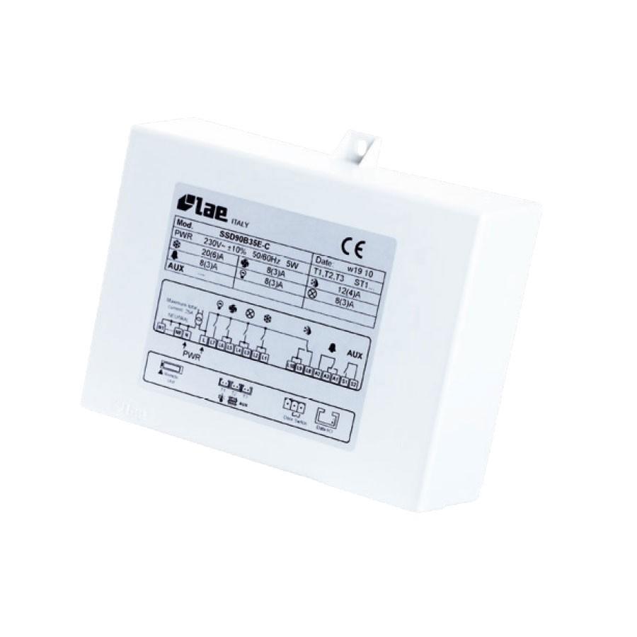 LAE SSD90C65E-C Multifunktions-Abtauregler (incl. 3xFühler) SSD90