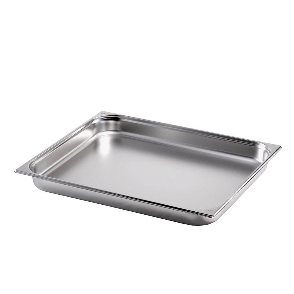 Gastronormbehälter GN 2/1 aus Edelstahl (Tiefe: 55 mm) Saro 15,2 L