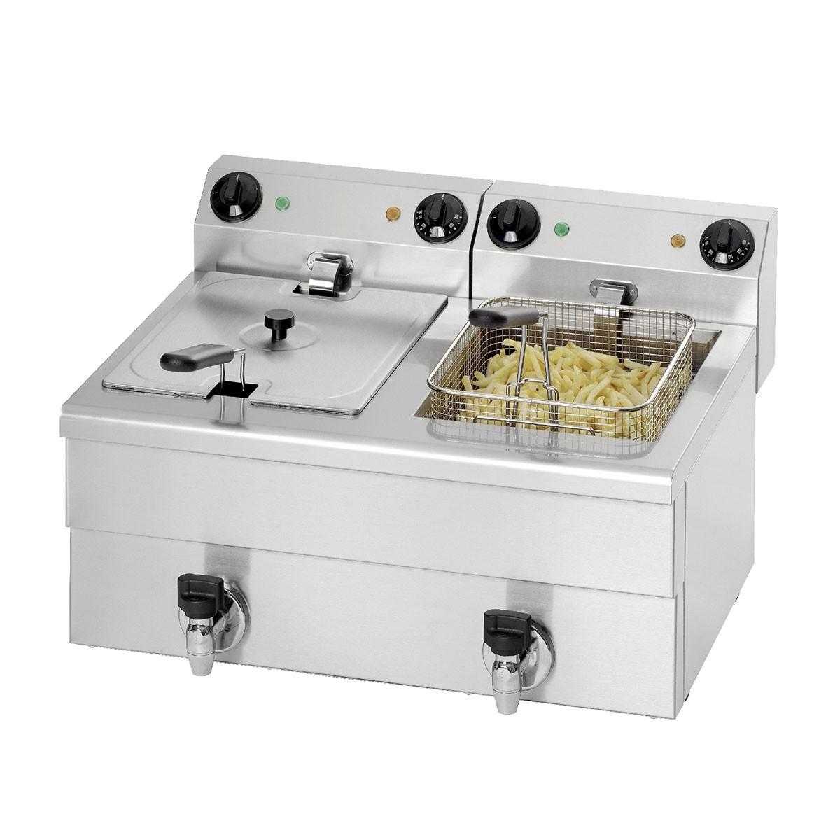 Gastro Friteuse FE 102 - 2x 10,0 L Saro