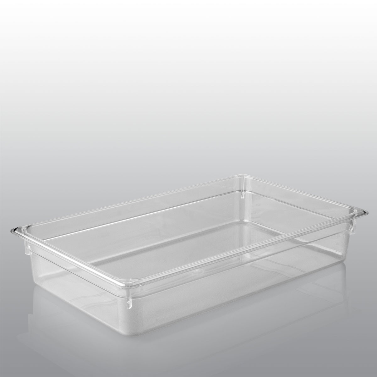 GN Behälter GN 1/1 aus Polycarbonat (Tiefe: 100mm) 14,0 L Saro
