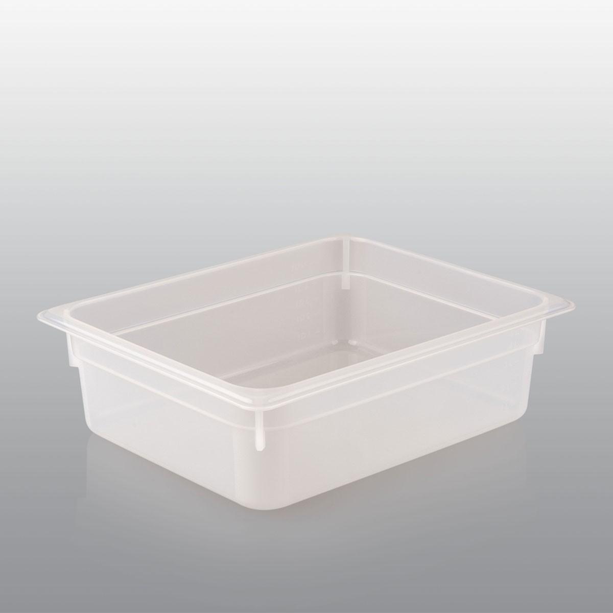 GN Behälter GN 1/2 aus Polypropylen (Tiefe: 100mm) 6,5 L Saro