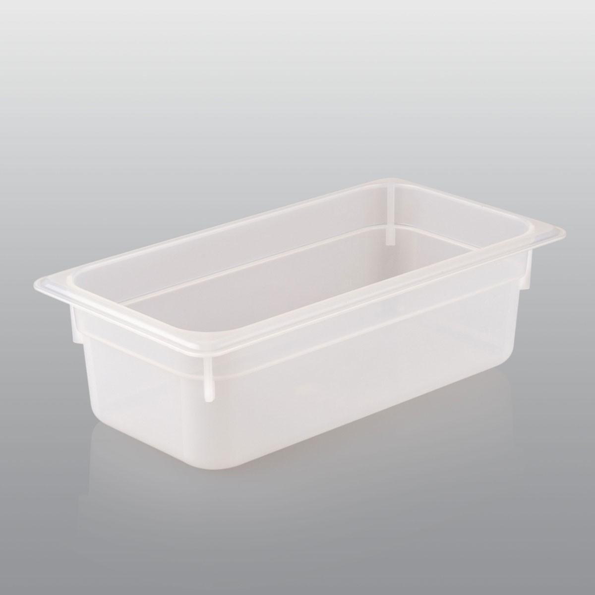 GN Behälter GN 1/3 aus Polypropylen (Tiefe: 100mm) 4,0 L Saro