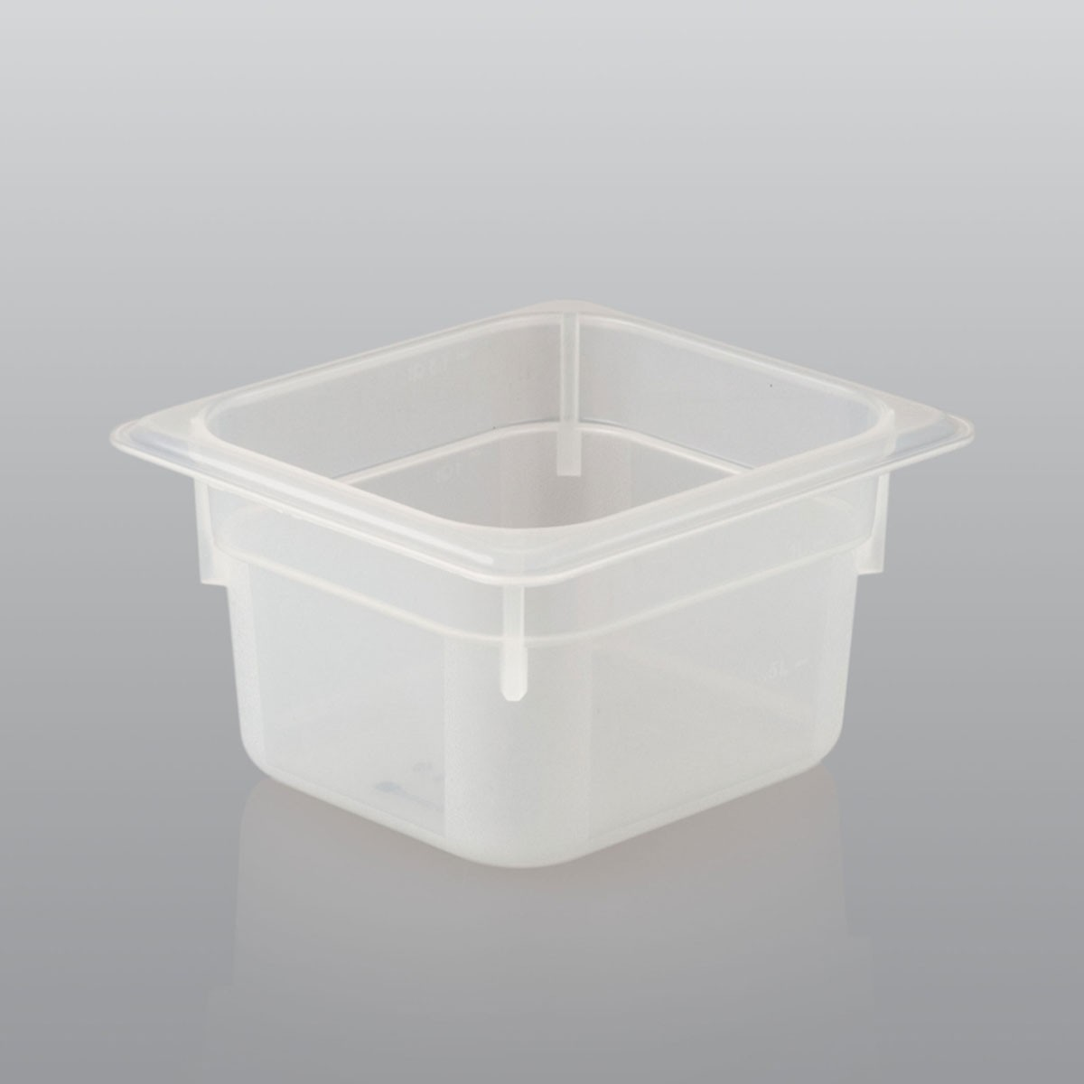 GN Behälter GN 1/6 aus Polypropylen (Tiefe: 100mm) 1,6 L Saro