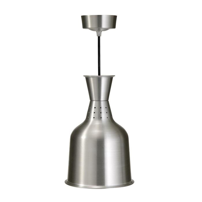 Wärmelampe Lucy aus Aluminium Saro Buffet Lampe