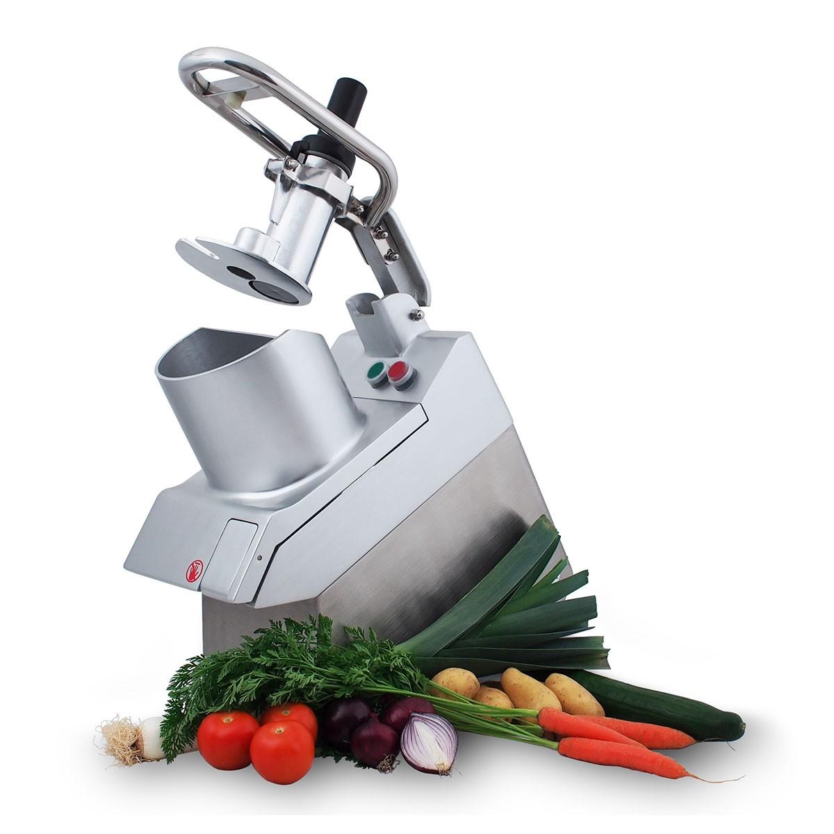 Gemüseschneidemaschine Titus - runder Einfülltrichter Saro