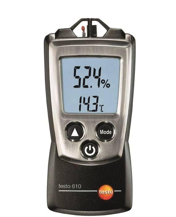 Luftfeuchtemessgerät- und Temperatur-Messgerät testo 610 Thermohygrometer