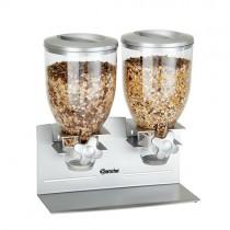 Doppelter Cerealienspender 2x 3,5 L - Bartscher