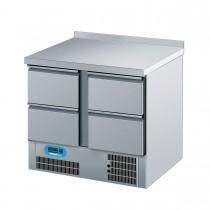 Chromonorm Kühltisch mit 4 Schubladen 950 x 700mm CKTT07954CEV