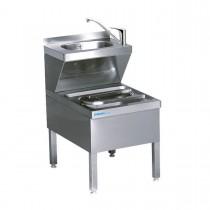 Chromonorm Ausguss Handwasch Kombination 600 x 500mm AK0605C0000