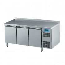 Chromonorm Bäckerei Kühltisch mit 3 Flügeltüren 1950 x 800mm CKTEK8346601