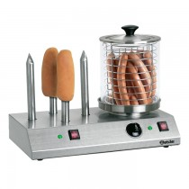 Hot-Dog-Gerät mit 4 Spezial-Toaststangen