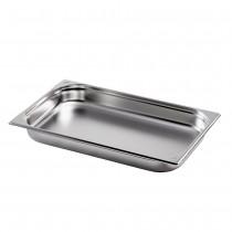 Gastronormbehälter GN 1/1 aus Edelstahl (Tiefe: 65mm) 9,0 L Saro