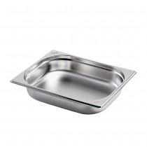 Gastronormbehälter GN 1/2 aus Edelstahl (Tiefe: 55 mm) Saro 3,2 L