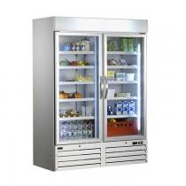 Gastro Kühlschrank G 920 Glastür
