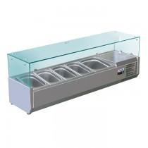 Aufsatzkühlvitrine Mette VRX 1400/330 Saro