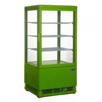 Mini Umluftkühlvitrine SC 70 grün Saro