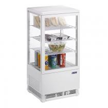 Mini Umluftkühlvitrine SC 70 weiß