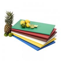 Polyethylen Schneidbrett 500 x 300mm Saro - Grün für Obst und Gemüse