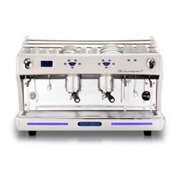 Gastro Espressomaschine Diamant 2 Brühgruppen mit Display
